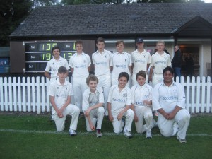 U15 team winners of the Bucks South Division 1