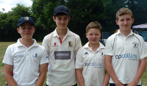 U14s Henry Richie Tom and Jack